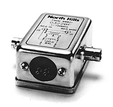 带共模接口的平衡信号转换器